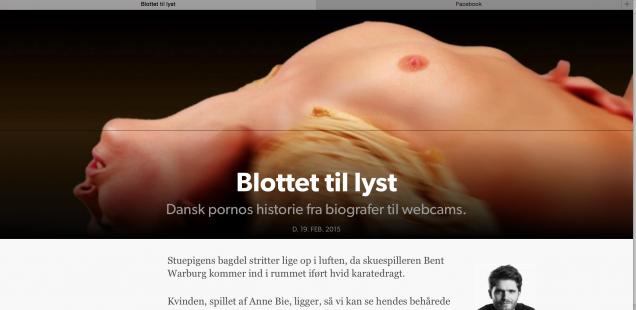 Blottet til lyst – dansk pornos historie fra biografer til webcams
